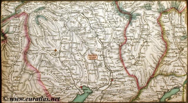 Carte Routi 232 Re De La Suisse Road Map Of Switzerland