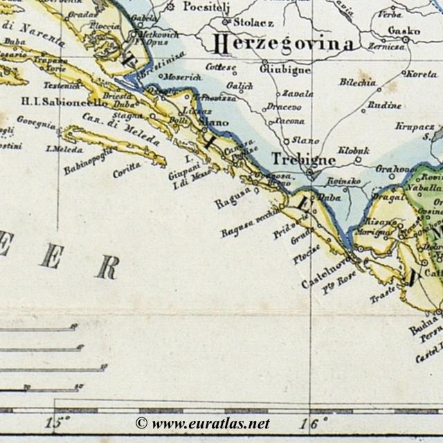 Croatie Slavonie Confins Militaires Dalmatie Bosnie