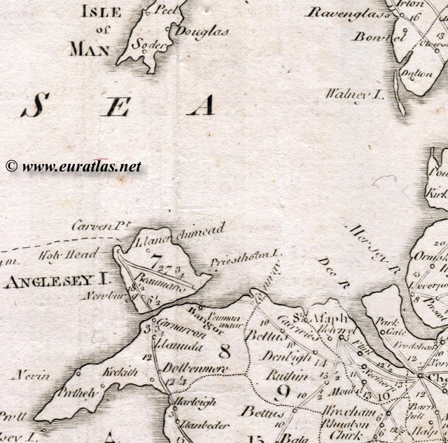 Carte avec les ... England And Wales