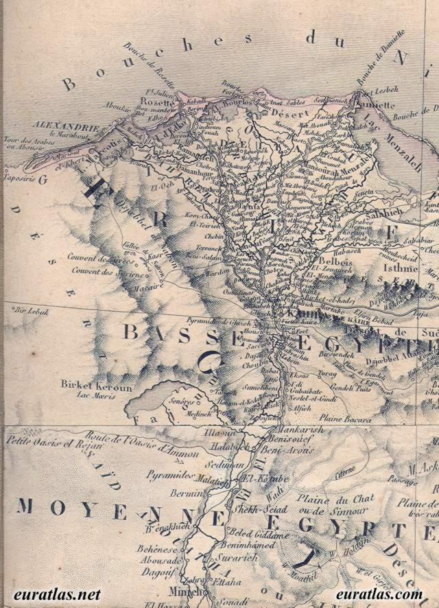 Nile Delta Map