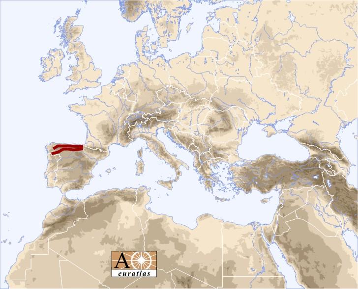 Pindus Mountains Map