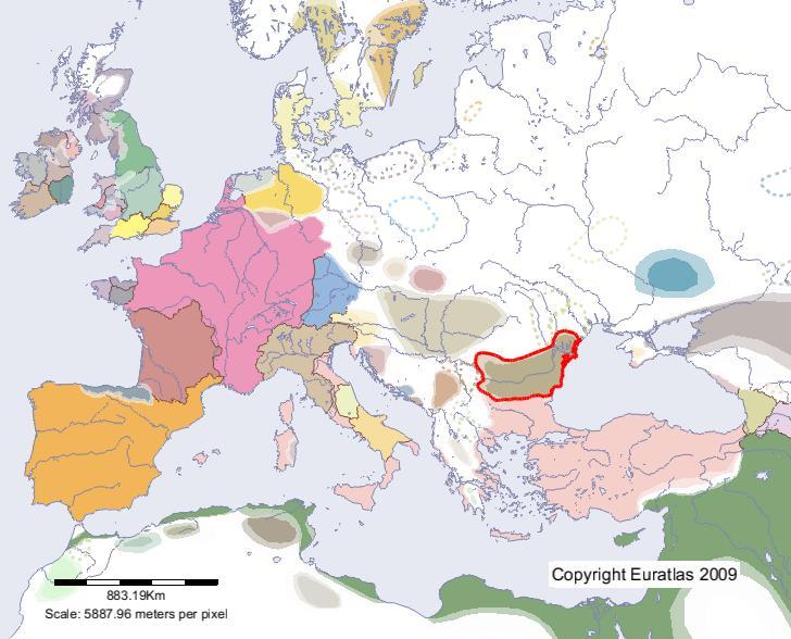 carte europe 700