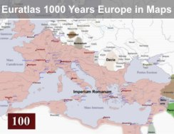 1000 Years Europe in Maps Video
