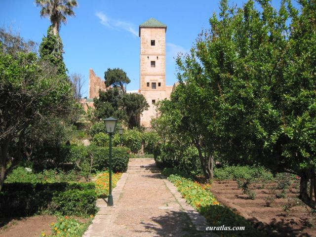 photos of morocco ouadaya gardens