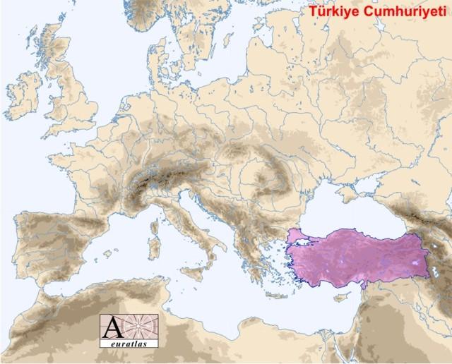 Emplacement de la Turquie