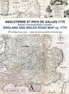 Routes de poste d'Angleterre et du pays de Galles 1779