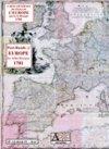 Carte générale des Postes de l'Europe 1781