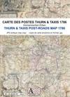 Cartes des postes Thurn & Taxis 1786