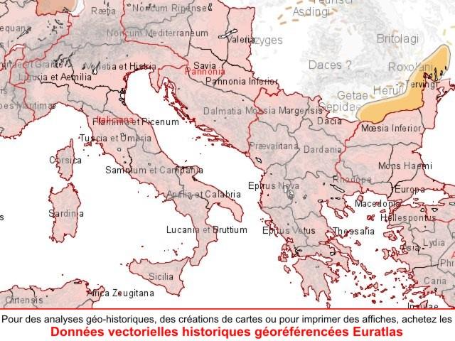 carte europe en 300