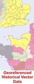 Purchase the Euratlas Georeferenced Historical Vector Data