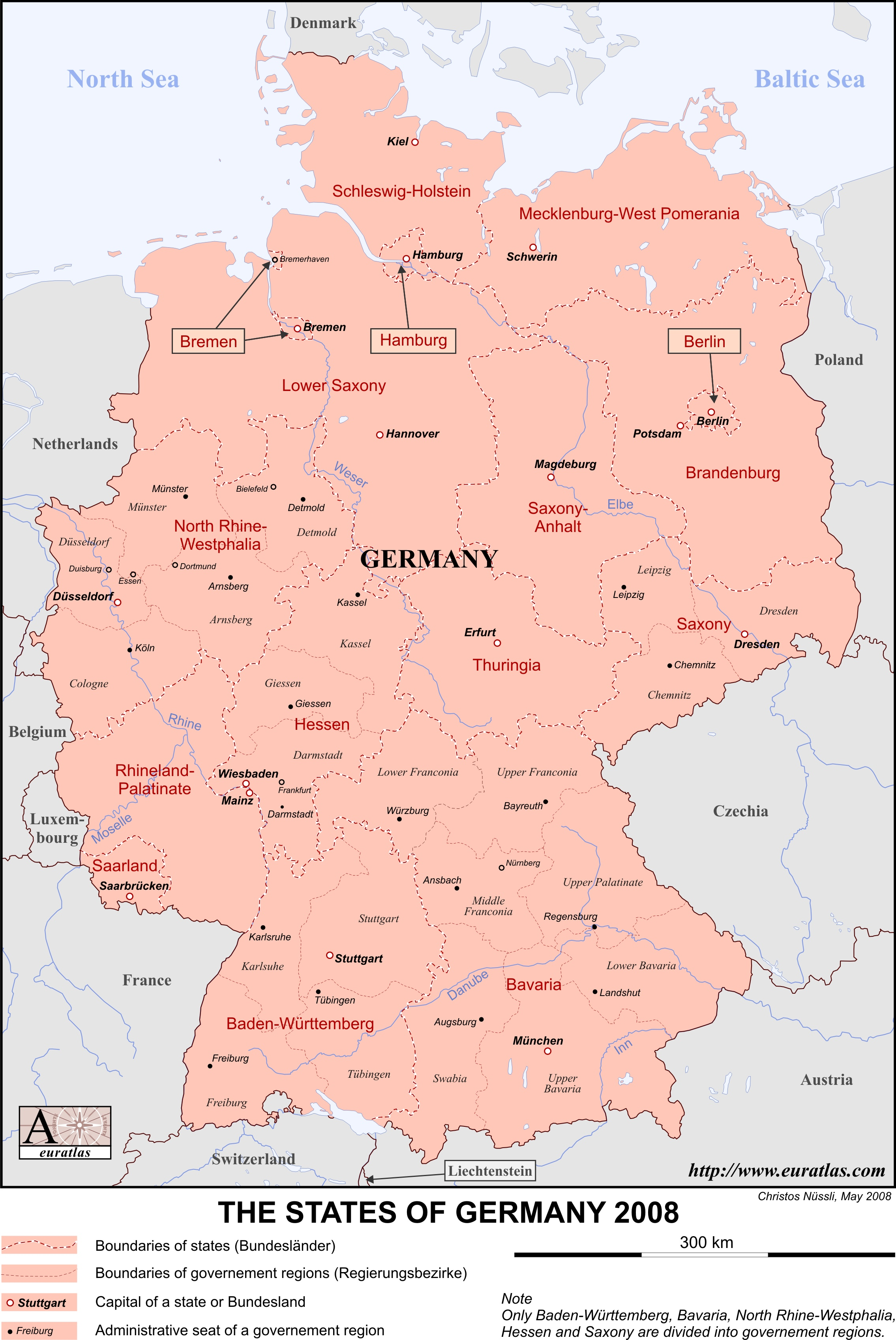 Map Of Germany To Color.Euratlas Info Member S Area Germany En Lab Col