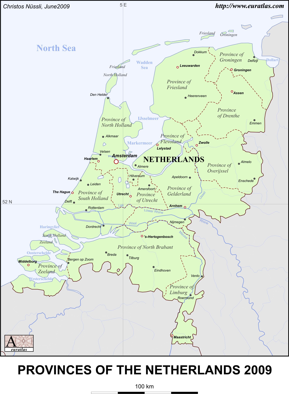 Euratlas-Info Member\'s Area: Netherlands EN Lb. Col.