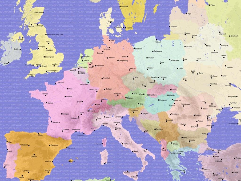 Euratlas info countries of europe 2005 wallpaper 1024 x 768 gumiabroncs Gallery