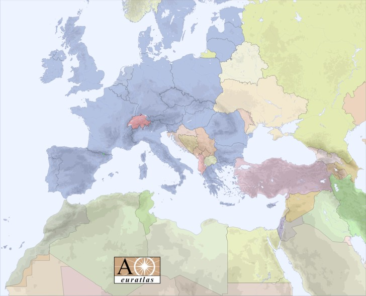 Europe atlas the countries of europe and mediterranean basin europe gumiabroncs Image collections