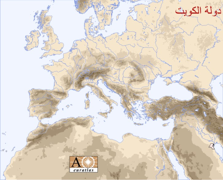 Europe atlas the sovereign states of europe and mediterranean basin kuwait gumiabroncs Image collections