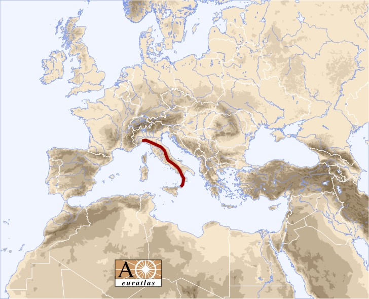 Europe Atlas: the Mountains of Europe and Mediterranean Basin ...