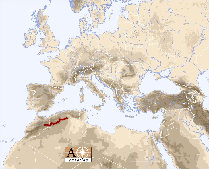 Atlas - saharien
