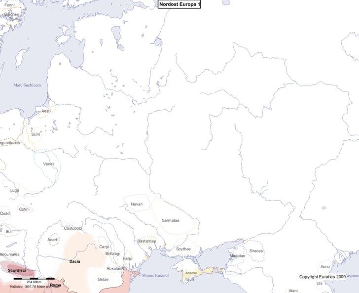 Karte von 1 Nordost