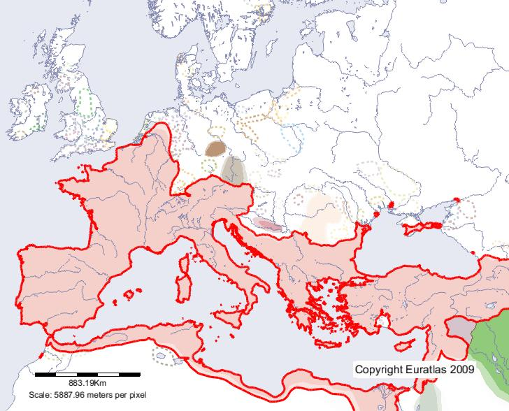 Euratlas periodis web map of roma in year 1 map of roma in year 1 gumiabroncs Choice Image