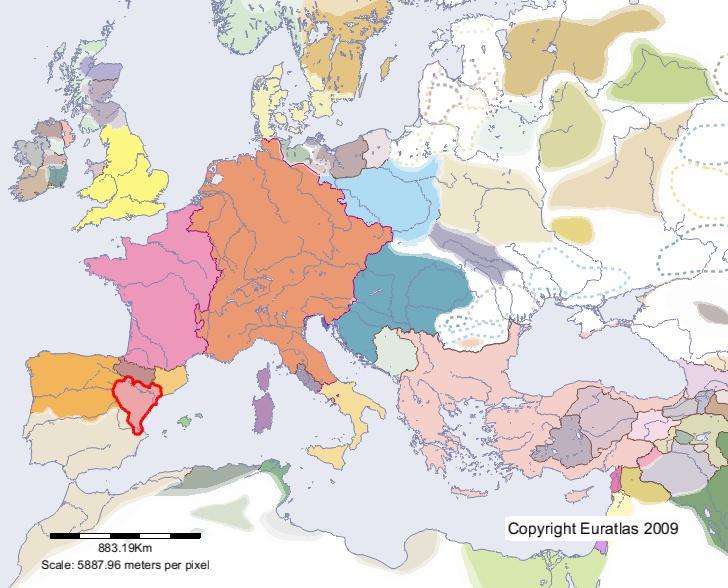 Euratlas Periodis Web Karte Von Valencia Im Jahre 1100