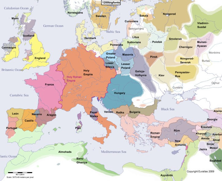 85 Old Map Of Europe 1500 Download This Picture Here European