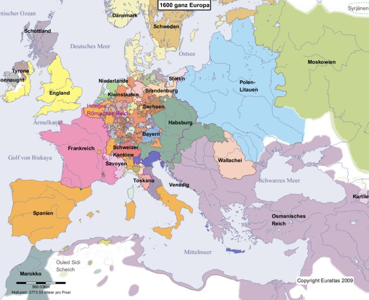 Europaische Union Eu Karte Nach Dem Brexit 2020 135 X 100cm