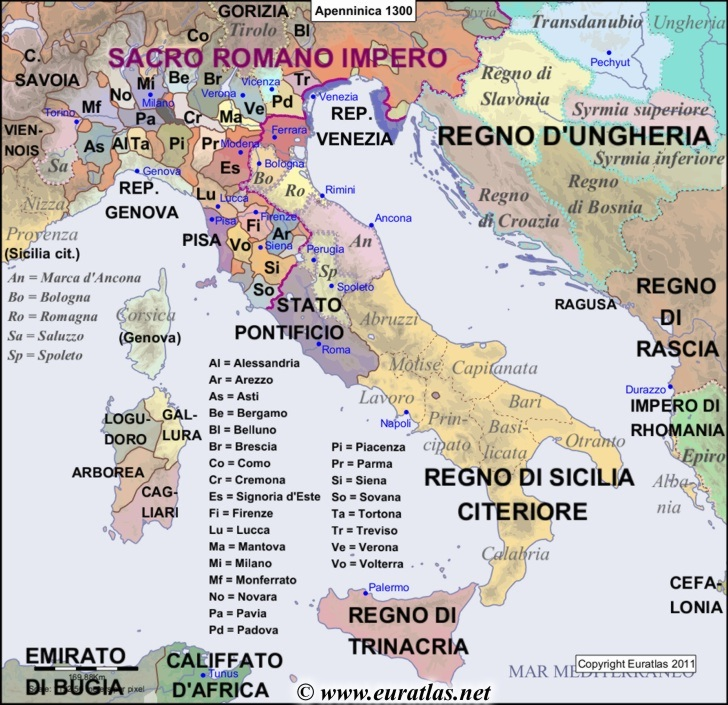 Peninsula In Europe Map.Euratlas Periodis Web Maps Of The Apennine Peninsula