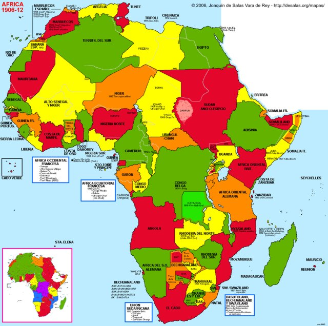 Hisatlas Map Of Africa - African map
