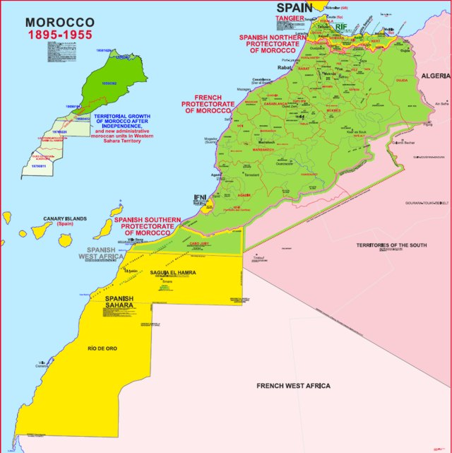 Hisatlas Map Of Morocco - Map of morocco