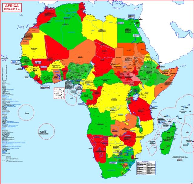 Hisatlas   Map of Africa 2011