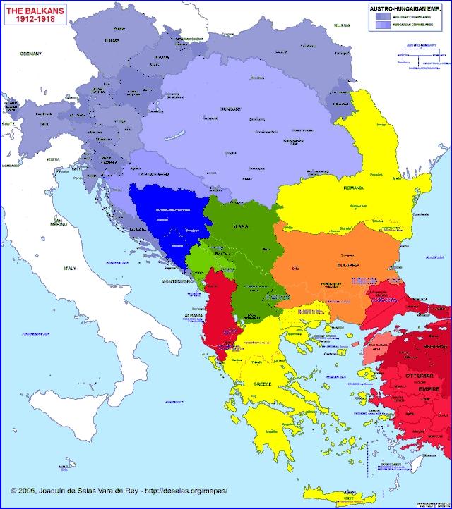 Physical Map Of Europe Balkan Peninsula