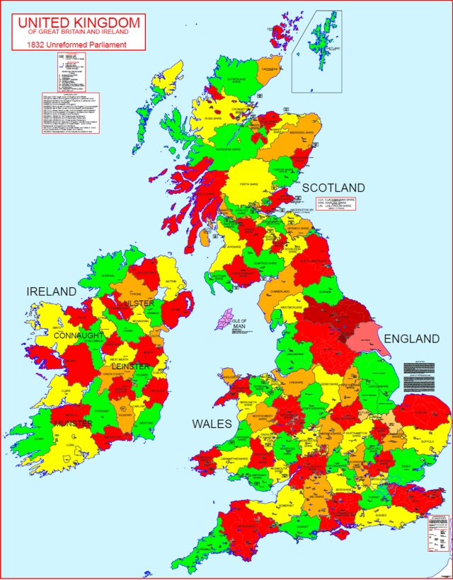 Hisatlas Map Of Great Britain And Ireland - Map of great britain and ireland