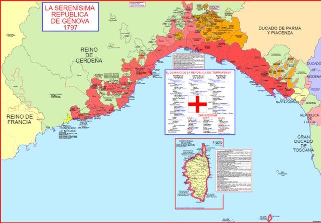 Hisatlas Map Of Genoa - Italy map genoa