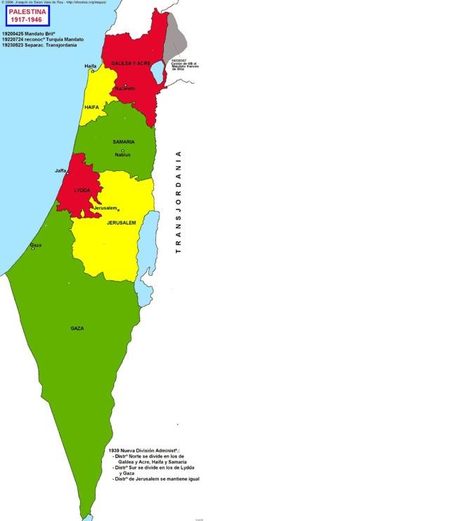 Hisatlas Map Of Palestine - Map of palestine