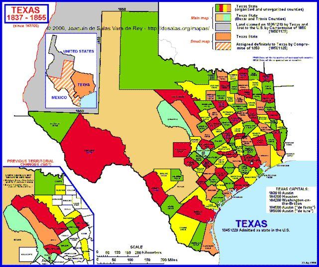 Hisatlas Map Of Texas - Mapa texas