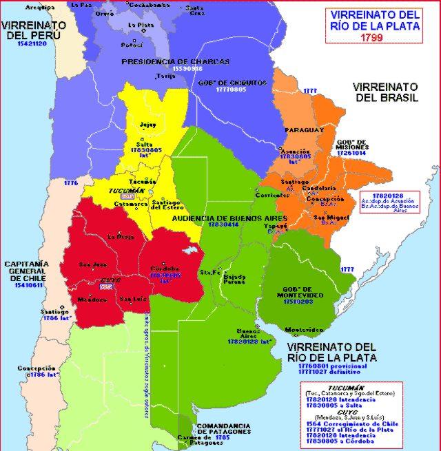 Rio De La Plata On Map Maps For You