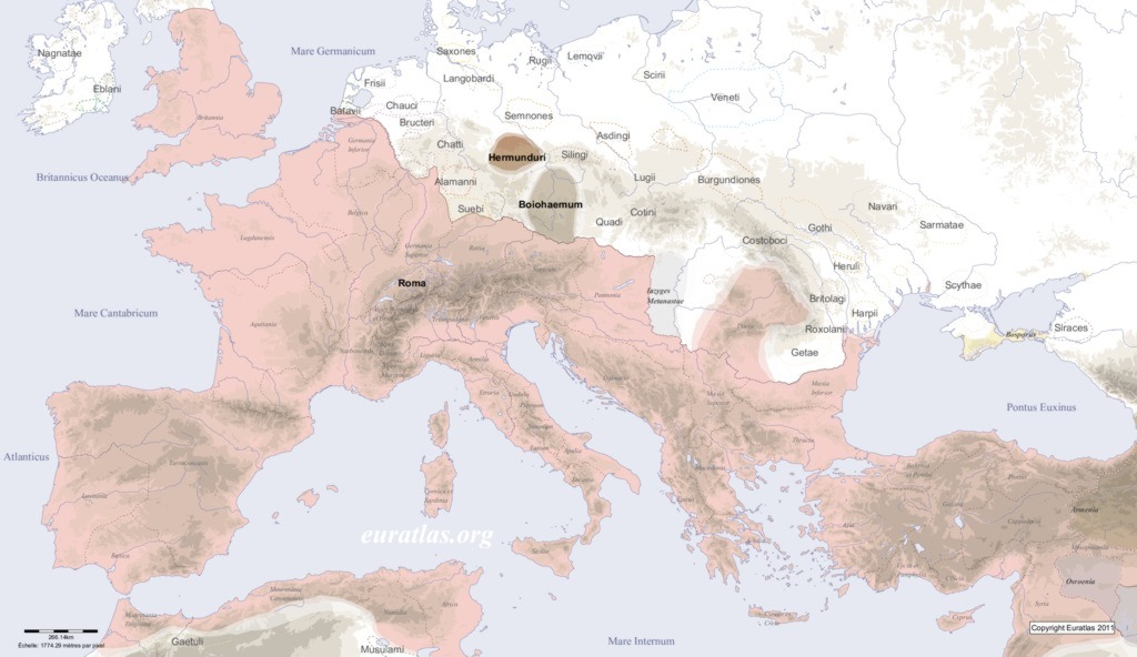 Europe in AD 200