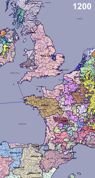 Euratlas Historical Polities