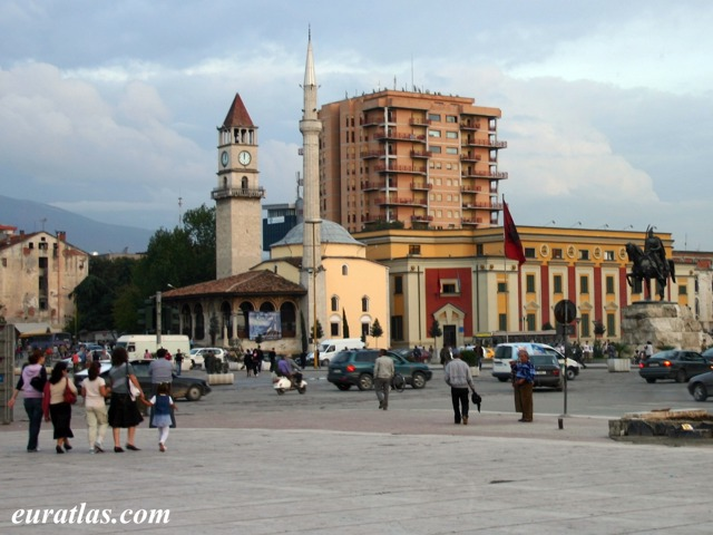 Click to download the Skanderbeg Square in Tirana