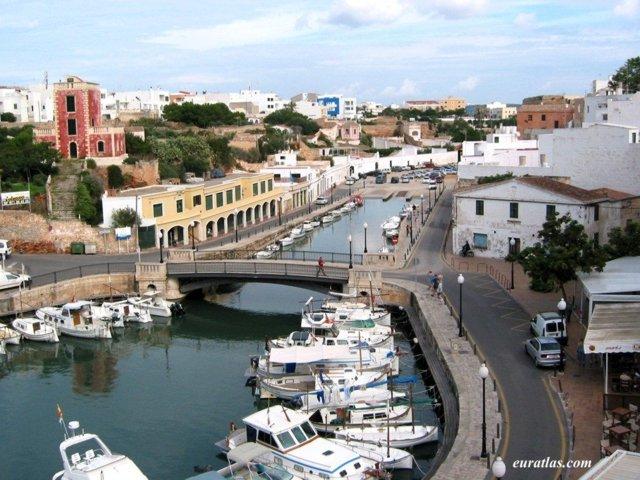 Exceptionnel Photos d'Espagne: Minorque, le port de Ciutadella SW13