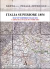 Carta dell'Italia superiore 1854