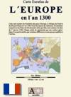 Carte Euratlas de l'Europe en l'an 1300