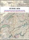 Deuxième Carte routière de la Suisse 1836